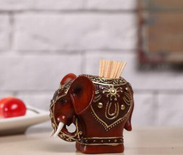 Toothpick Canada - Wholesale- 2016 European style fashion creative toothpick holders swab box upscale Toothpick Holder gift to friend free shipping 445