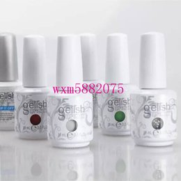 Clear base gel online shopping - quality colors top base Harmony Gelish Nail Polish STRUCTURE GEL Soak Off Clear Nail Gel LED UV Foundation Top it off Nail art color gel