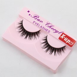 x lashes 2018 - X-UP23 100%Supernatural Lifelike handmade false eyelash 3D strip mink lashes thick fake faux eyelashes Makeup beauty che