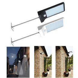 power poles 2019 - 450LM 36 LED Solar Power Street Light PIR Motion Sensor Lamps Garden Security Lamp Outdoor Street Waterproof Wall Lights