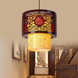 Pendant Lights Reasonable Modern New Chinese Lotus Chandelier Living Room Tea Room Corridor Restaurant Creative Personality Chinese Style Art Pendant Lamp For Sale Lights & Lighting
