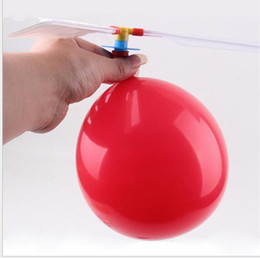 $enCountryForm.capitalKeyWord NZ - flying Balloon Helicopter DIY balloons airplane Toy children novelty gag Toy self-combined Balloon Helicopter amazing kids balloon toys
