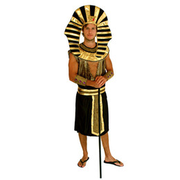 $enCountryForm.capitalKeyWord Canada - Shanghai Story Egypt Pharaoh Cosplay Halloween Costumes For Men, Masquerade Party Clothing Men Movie Costumes