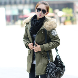 Discount Hooded Green Military Jacket Women | 2017 Hooded Green ...
