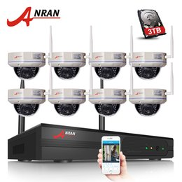 CCtv h 264 Camera wifi online shopping - ANRAN CH Wifi NVR Kits TB HDD Optional H P HD Wireless WIFI IP Camera MP Home Security CCTV Video Surveillance System