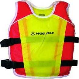 Child Sports Swimwear Canada - WINMAX Swimming Swimwear Buoyancy Sport Jacket Water Training Lift Vest for Kid Child Safety Products Red