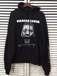 Barato Hoodie Fino Do Pulôver-2018 new Best Version Oversized Vetements 17fw zombie Einstein Alemão chariot fino Mulheres Homens hoodie S-XL