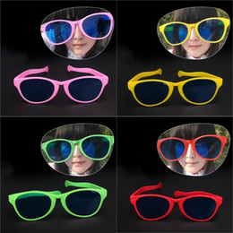 $enCountryForm.capitalKeyWord Canada - 27*9cm Adult Children Party Oval Glasses 6 Colors Soccer Fans Funny Big Glasses April Fools' Day Birthday Decoration PVC Glasses