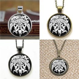 Wholesale Bookmark Chains Australia - 10pcs Alice in Chains Glass Photo Necklace keyring bookmark cufflink earring bracelet