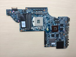 hp intel NZ - For HP DV7 DV7-6000 HM65 Laptop Motherboard 655488-001 655488001 HD6770 2G Intel s989 DDR3 Notebook Systemboard
