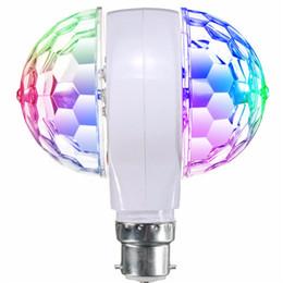 $enCountryForm.capitalKeyWord UK - 3W LED RGB Stage Light Bulb E27 Rotating For KTV Bar Disco Party Decor Lamp Double Headed Ball Stage Effect Lighting