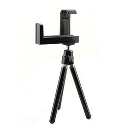 Wholesale 100set Universal Rotatable Tripod Holder Stand Mount For Smart Phone Mobile phone Android phone