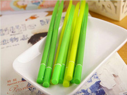 sale pens Australia - Factory direct sale three color mix Small pure and fresh and han edition of stationery Green grass neutral pen The green mood stationery