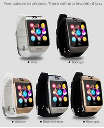 $enCountryForm.capitalKeyWord Australia - Hot seling smart watches Q18S1.5inch IPS for android phones Bluetooth Smartwatch with Camera Support Tf sim Card Slot NFC Connecti