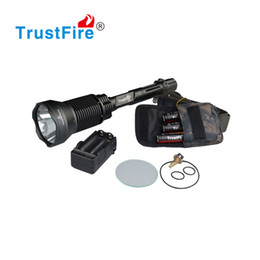 Flash Drive Battery NZ - Fishing Hunting Equipment Outdoor Sports LED Flashlight Camping Torch 5 Modes Tail Switch 18650 Rechargeable Battery Flash Light Hiking Lamp
