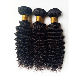 dhgate virgin human hair Canada - Unprocessed Brazilian virgin human hair Soft and smooth kinky curl hair extensions beauty Forever Indian Remy Human hair 3 4 5pc lot DHgate
