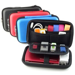 Hdd poucH online shopping - Portable Digital Accessories Travel Storage Bag for HDD Power Bank U Disk SD Card USB Data Cable Electronic Products Pouch