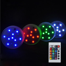 halloween controller 2019 - LED Submersible Candle Floral Tea Light Candle Flashing Waterproof Wedding Party Decoration Hookah Shisha With 24Key Rem