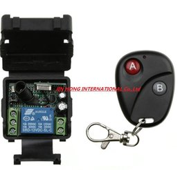 Remote contRol 12v batteRy online shopping - DC V CH RF Wireless Remote Control Switch System MHZ Receiver And Transmitter include battery