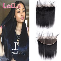 Virgin queen hair product online shopping - Brazilian Virgin Hair X4 Lace Frontal Closure Queen Product A Straight Hair With Baby Hair Human Lace Frontal