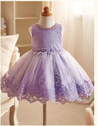 Shine Wholesale Clothing Canada - 2 to 12 years Girls summer lace flowers dresses, Sleeveless princess shining clothes, baby kids boutique party tutu clothing, 7AA610DS27