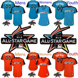 853619db6 ... Custom Mens Womens Youth 2017 MLB All-Star Game Personalized Home Run  Derby Jersey American Womens American League ...
