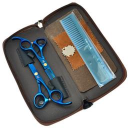 Barber Thinning Shears Australia - 5.5Inch Meisha Professional Hairdressing Scissors Set Salon Cutting Scissors JP440C Thinning Shears 62HRC Barber Shop Styling Tool, HA0031