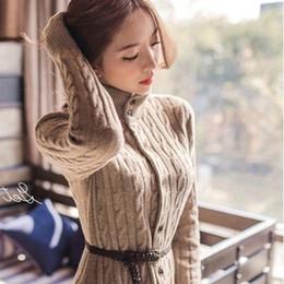 Korean Women Winter Coats Belted Online | Korean Women Winter ...