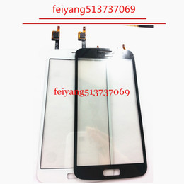 samsung digitizer NZ - OEM White Black Color For Samsung Galaxy Grand 2 G7102 G7105 G7106 Touch Screen Digitizer Glass Panel Repair Part