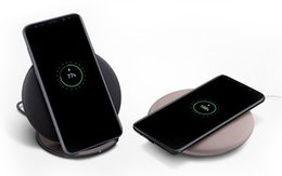 Qi Wireless Charging Charger Pad Canada - Hot Qi Wireless Charger For iPhone X iPhone 8 Plus Convertible Pad&Stand Faster Charging Technology for Samsung Note 8 S8 Plus S7 edge