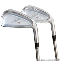 China New mens Golf Clubs set Fourteen TC510 Golf irons set 4-9P 7pcs Clubs Dynamic Gold R300 Golf shafts with irons Grips Free shipping suppliers