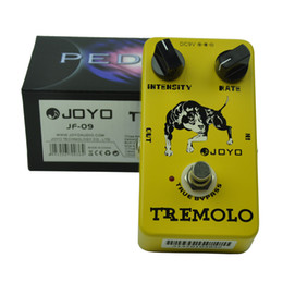 $enCountryForm.capitalKeyWord Australia - JOYO JF-09 Tremolo Guitar Effect Pedal True Bypass Rate Intensity Knobs