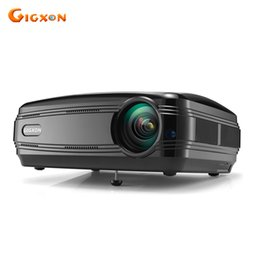 Used bUsiness projectors online shopping - Gigxon G58 Full HD Lumens small Office Council Business Meeting use P LCD LED projector Home Theater projector beamer