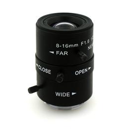 CCtv Cameras manual zoom online shopping - F1 mm LENS C Mount Mega Pixel HD Industrial lens Vari Focal Manual Iris CCTV Lens For CCTV Camera