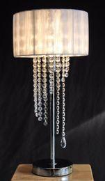Discount Multi Bulb Table Light European American Style Glass Crystal Table  Light LED Bulb Optional Bedroom