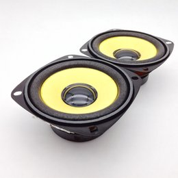 f048c11e8 Wholesale- 2pcs 3 inch Full Range Speaker Gold Foam Edge Black Magnetic  Multimedia Loudspeaker DIY HIFI 4 ohm 10 W 78mm Audio Speakers