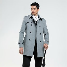 Discount Mens Cashmere Double Breasted Coats | 2017 Mens Cashmere ...