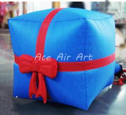 Balloon Boxes Canada - Custom Plush inflatable Christmas Gift, Christmas decoration, inflatable box for Christmas gift