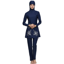 $enCountryForm.capitalKeyWord Canada - Wholesale Full Coverage Muslim Swimwear Islamic Bodysuit Muslim Women Conservatism Swimsuit Arab Swimming Beachwear Free Shipping