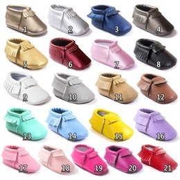baby moccs tassel Canada - Leather baby moccasins baby moccs girls bow moccs 100% Top Layer soft leather moccs baby booties toddler shoes