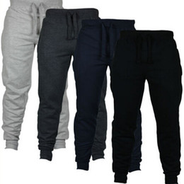 Wholesale New Fashion Harem Pants Sweat Pants Men Trousers Jogger Pants Chinos Skinny Joggers