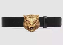 $enCountryForm.capitalKeyWord UK - feline Leather belt with 2019 buckle Style 409420 Blooms belt snake bee dragon tiger head feline buckle Men Belt With Box