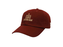 I Feel Like Lebron Hat NZ - I FEEL LIKE LEBRON cotton fasion leisure baseball cap Hat for men snapback hat casquette women's cap fashion accessories sport sun hat PPM