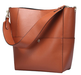 1e0a3b0dbcc3 Army bAg price online shopping - Cow leather women shoulder bags single  belt soft casual bucket