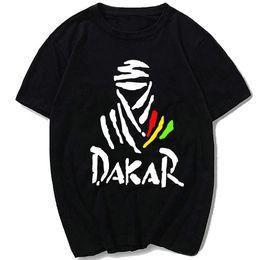 T Sport Racing Canada - Auto race T shirt The paris Dakar rally short sleeve gown Car sport tees Leisure printing clothing Unisex cotton Tshirt