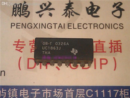 electronics transistors UK - UC1863J , dual in-line 16 pin dip ceramic package . Electronics parts   UC1863 . CDIP16 , IC