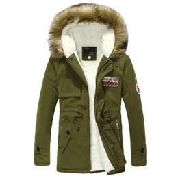 Men S Long Parkas Canada - Wholesale- Hot Selling Autumn Winter Long Parka Men Casual Slim Fit Hood Winter Jackets Mens Lovers Coat (Asian Size)