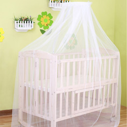 baby mosquito net white crib mosquito net portable crib tent suit for most baby bed hot sale