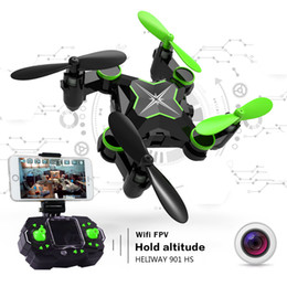 $enCountryForm.capitalKeyWord Australia - Mini RC Drone with Camera Hold Altitude 6-Axis 2.4GHz Gyro Quadcopter Wifi FPV Foldable Remote Control Helicopter Toys New