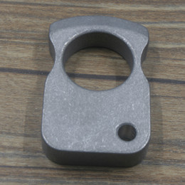 $enCountryForm.capitalKeyWord Canada - EDC Titanium Key Chain Ring Tactical Outdoor Self-defense Survival Tool HZ-30Ti Family & car camping Travel Multisport